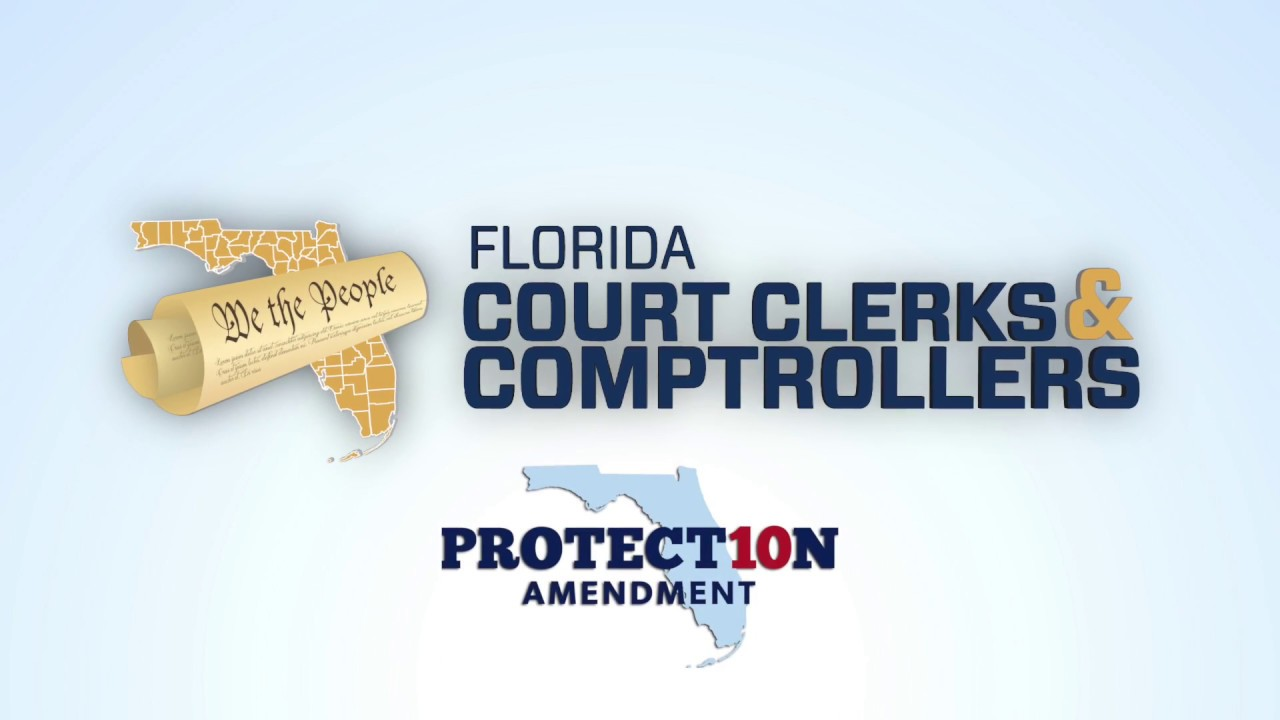 Message From Clerk Crawford On Florida Amendment 10