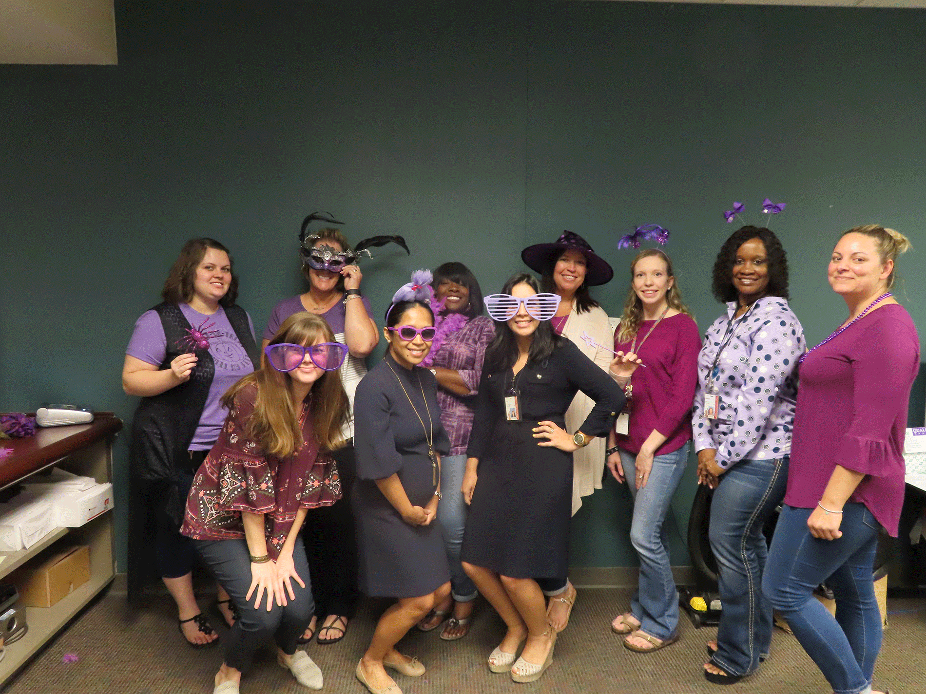 Clerk Employees Recognizes Domestic Violence Awareness Week